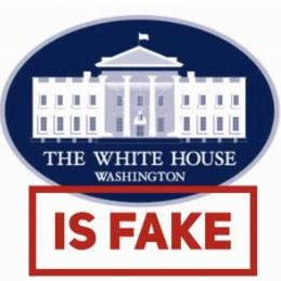 The White House is Fake